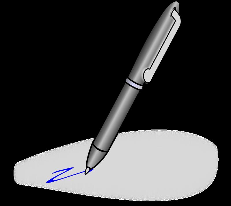 Pen clipart image clip transparent Free Clipart: Pen | gmad clip transparent