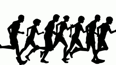 Clipart of people running to the left vector free library Free Animated People Running, Download Free Clip Art, Free Clip Art ... vector free library