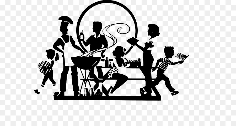 Clipart of people with disabilities having a picnic svg transparent library Line Logo clipart - Barbecue, Graphics, Silhouette, transparent clip art svg transparent library