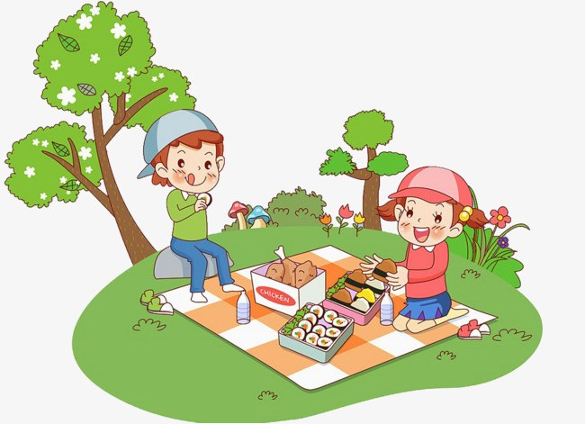 Clipart of people with disabilities having a picnic png library stock Children picnic clipart 4 » Clipart Portal png library stock
