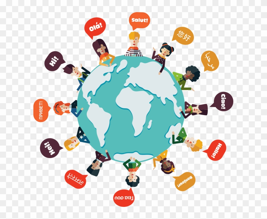 Clipart of people-s faces picture transparent download Identifying Low And High Context Communication Part - World Map With ... picture transparent download