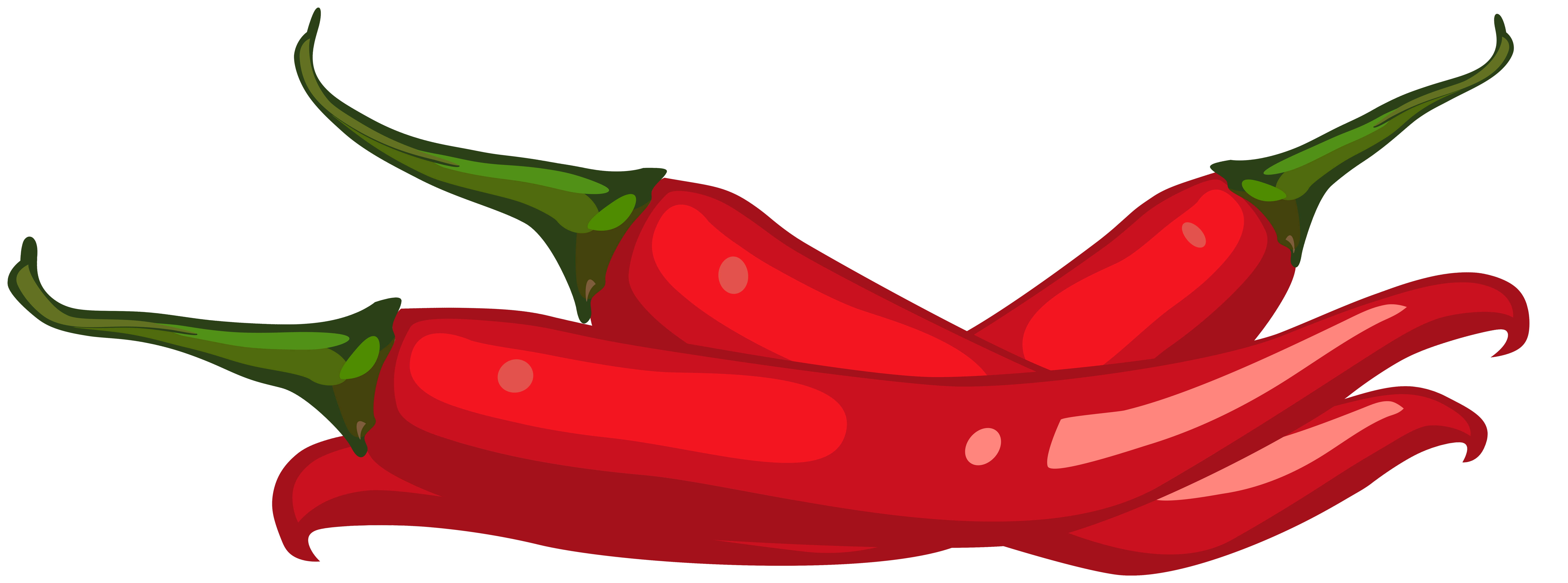 Clipart of peppers graphic black and white library Red Peppers PNG Clip Art - Best WEB Clipart graphic black and white library