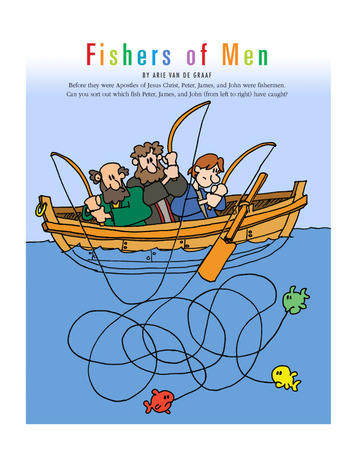 Clipart of peter james and john fishing clipart freeuse stock Fishers of Men clipart freeuse stock