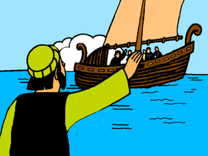Clipart of peter james and john fishing royalty free stock Breakfast on the Shore – Mission Bible Class royalty free stock