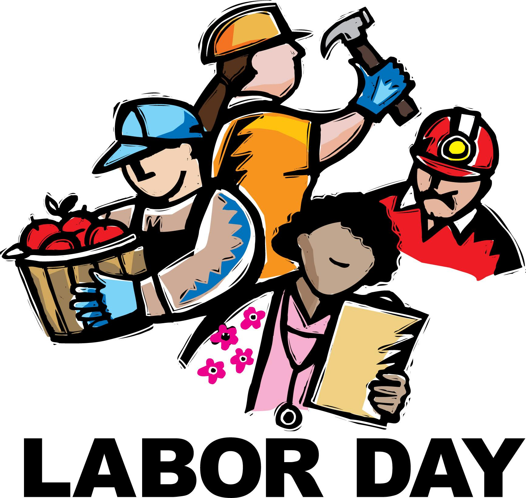 Labour day clipart jpg black and white Free Labor Day Clip Art Pictures - Clipartix jpg black and white