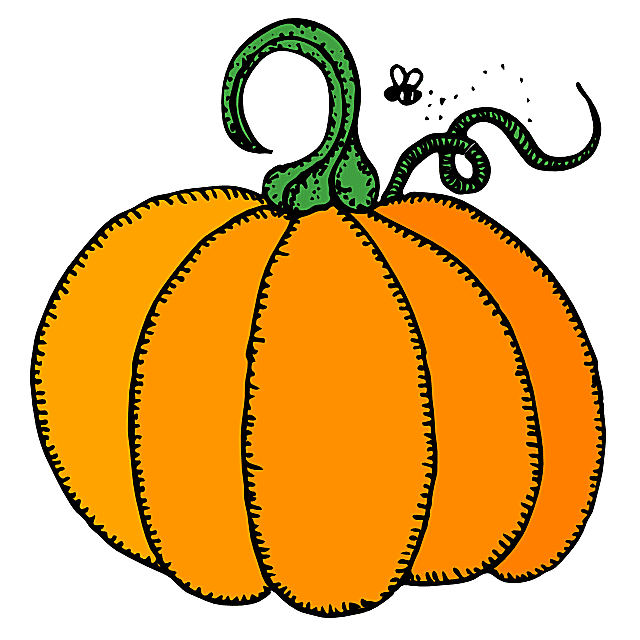 Halloween row of pumpkins clipart black and white clipart library library Cartoon Pumpkin Clipart Book Orange - Clipart1001 - Free Cliparts clipart library library