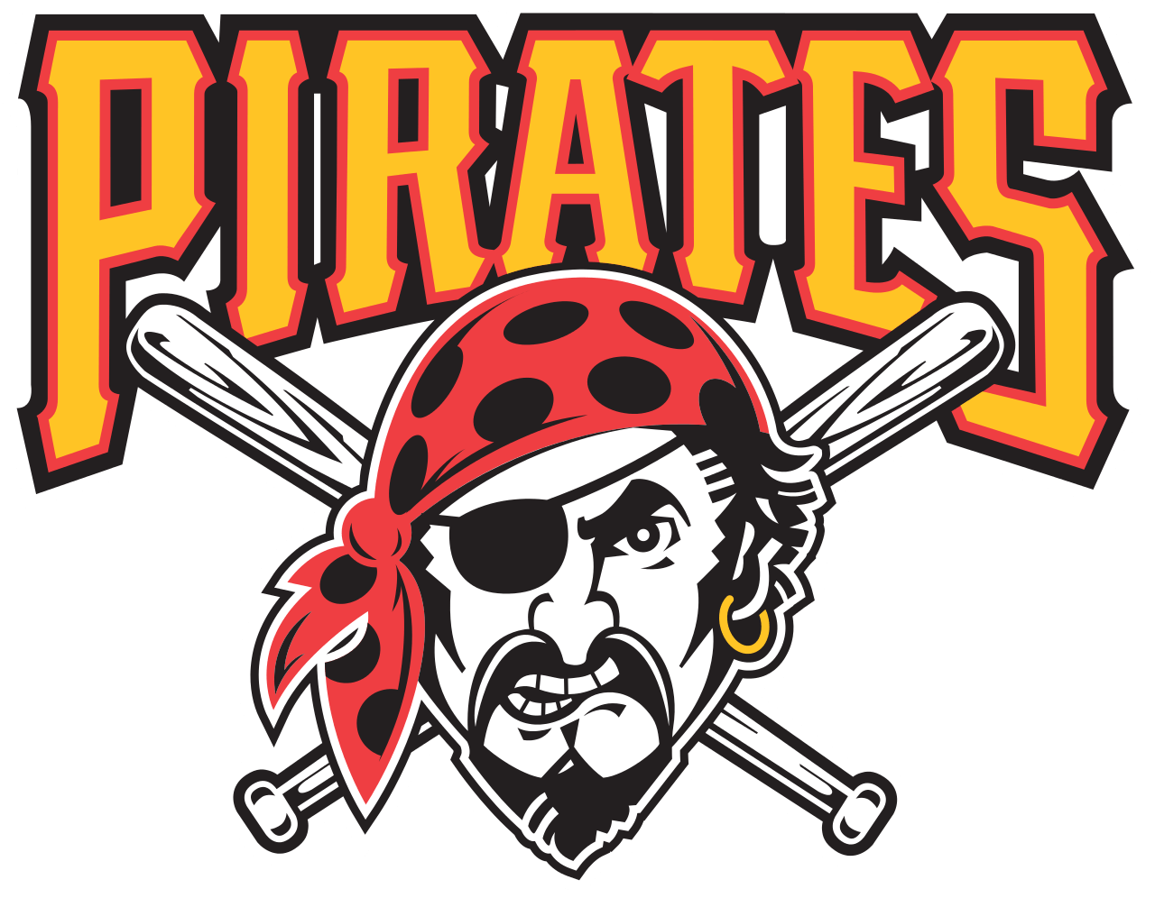 Clipart of pittsburgh pirates baseball players clip art free Pittsburgh Pirates Pirate Logo transparent PNG - StickPNG clip art free
