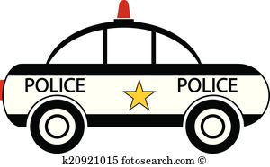 Clipart of police car svg freeuse download Police car Clip Art EPS Images. 2,840 police car clipart vector ... svg freeuse download