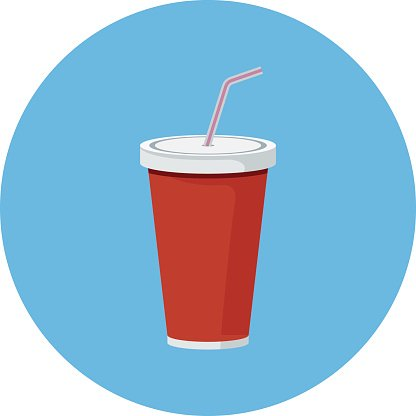 Clipart of pouring juice in a cup clip stock Juice Cup Colored Vector Icon premium clipart - ClipartLogo.com clip stock