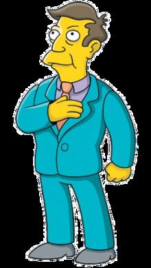 Simpsons principal clipart