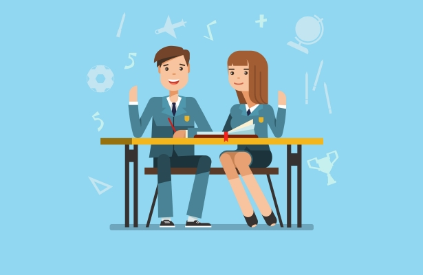 Clipart of principal being strict at school clipart stock Talking Points: should teachers and principals wear a uniform ... clipart stock