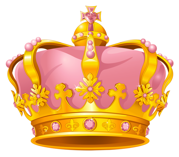 Medieval pink crown clipart picture transparent stock crown clip art | Gallery Free Clipart Picture… Crowns PNG Golden ... picture transparent stock