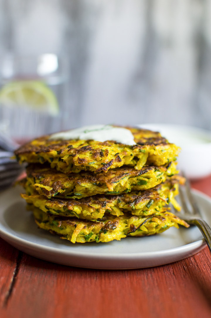 Clipart of roasted peppers mashed potatoes with zuccini picture free Turmeric Zucchini and Potato Fritters | Healthy Nibbles picture free