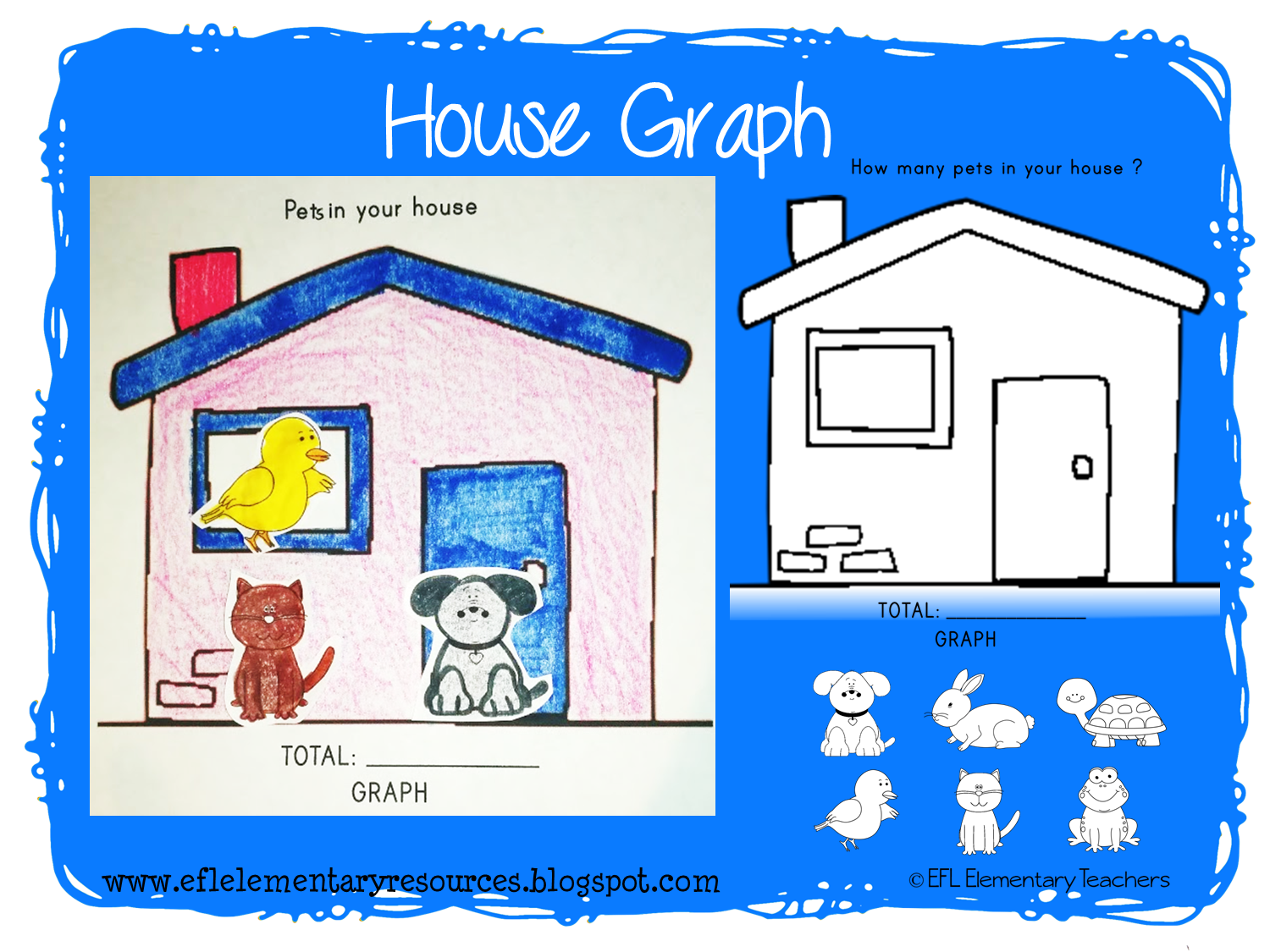 EFL Elementary Teachers: House Theme Resources for Elementary ELL vector download