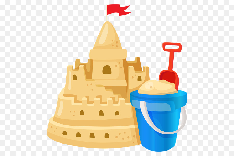 Clipart of sandcastles black and white stock Castle Cartoon clipart - Sand, Castle, Food, transparent clip art black and white stock