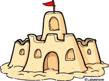 Clipart of sandcastles graphic Clipart of sandcastles » Clipart Portal graphic