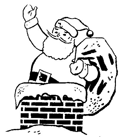 Free black and white clipart santa workshop jpg transparent stock Free Black Santa Claus Pictures, Download Free Clip Art, Free Clip ... jpg transparent stock