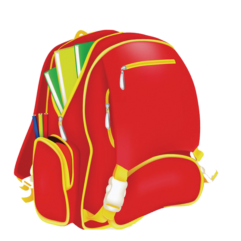 Clipart school bags banner freeuse Bag School Backpack Clip art - school bag 800*800 transprent Png ... banner freeuse