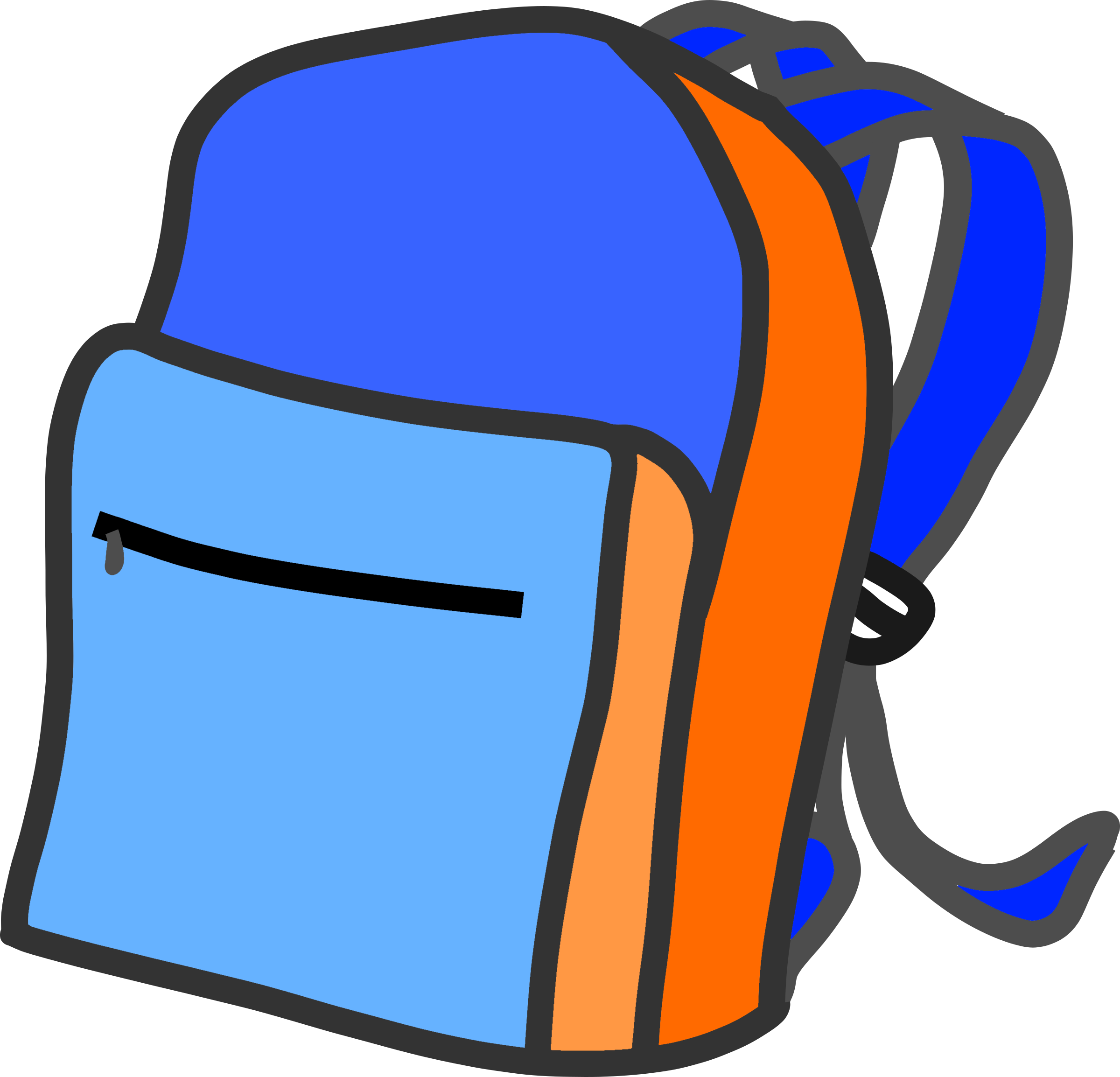 School bags clipart graphic transparent Clipart - School backpack graphic transparent