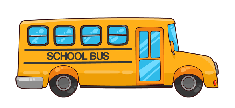 Driving to school clipart clipart free download Forms / Bus Transportation clipart free download