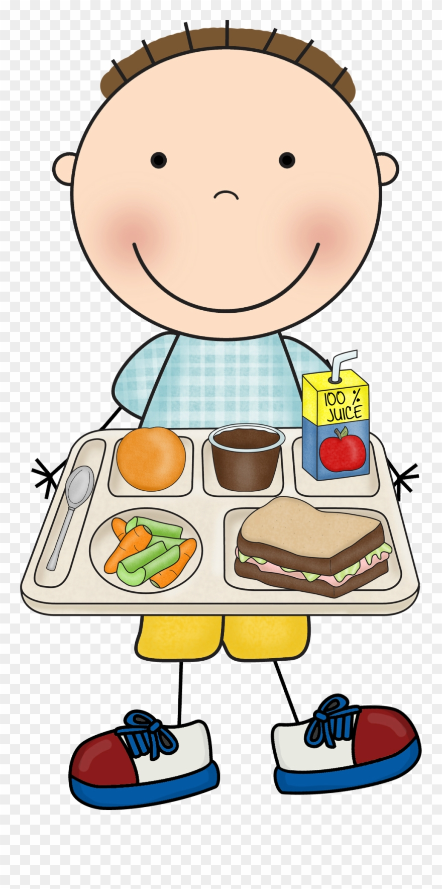 Clipart of school children getting their lunch jpg free download For Parents Image Of Lunch Kid - Lunch At School Clipart - Png ... jpg free download