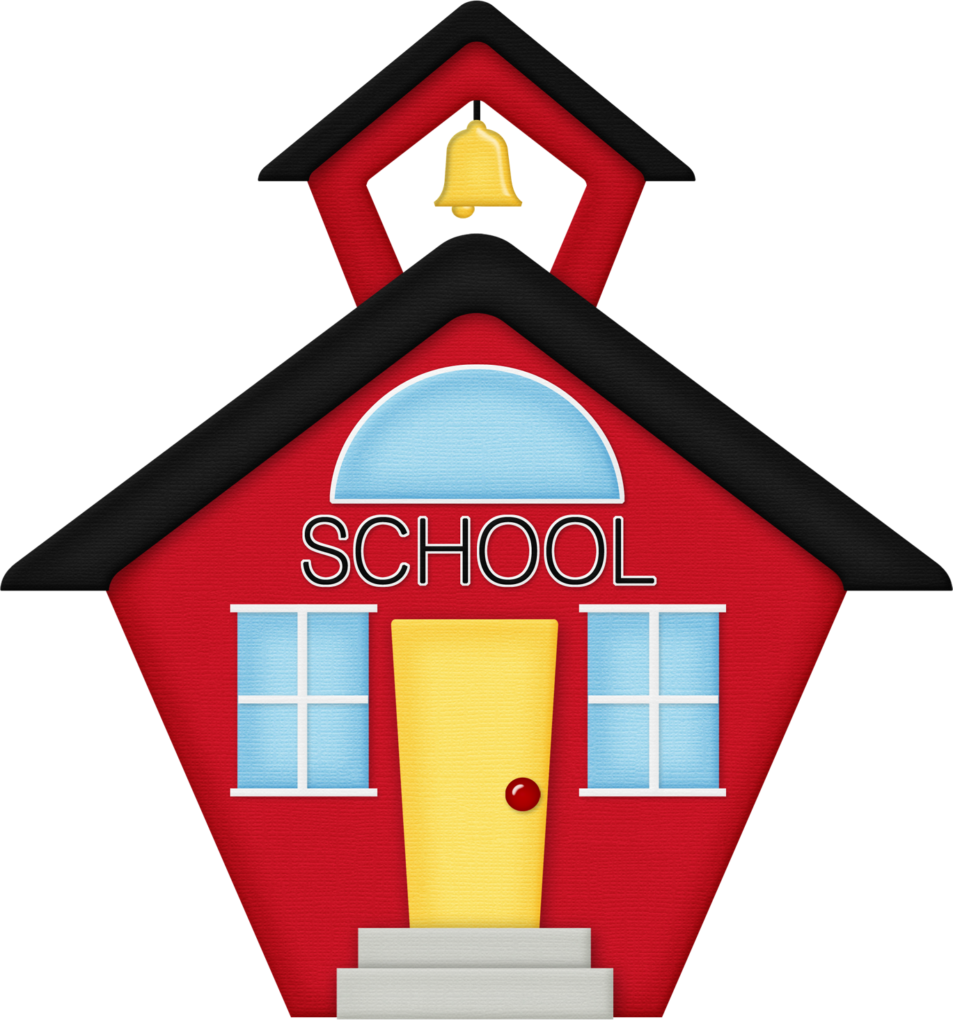 Clipart of school houses vector transparent download School House Images | Clipart Panda - Free Clipart Images vector transparent download