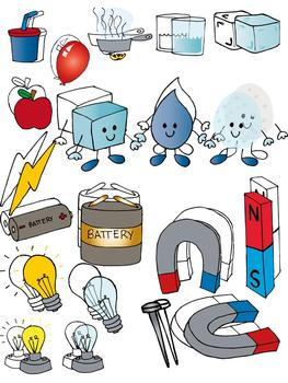 Clipart of science stuff jpg library download Science clip art set jpg library download