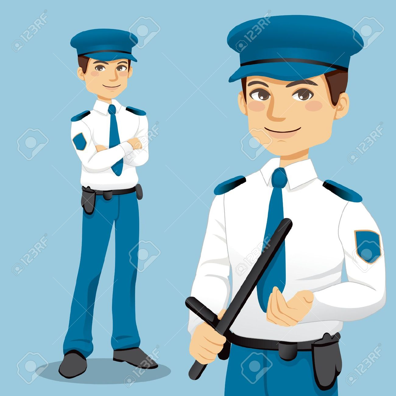 Clipart of security guard clipart free library Security officer clipart - ClipartFest clipart free library