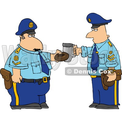 Clipart of security guard graphic library download Security Guard Clipart by Dennis Cox | Page #1 of Royalty-Free ... graphic library download