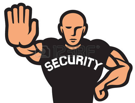 Clipart of security guard graphic black and white 6,143 Security Guard Man Stock Illustrations, Cliparts And Royalty ... graphic black and white