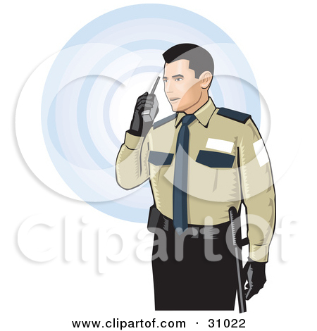 Clipart of security guard svg transparent download Royalty-Free (RF) Security Guard Clipart, Illustrations, Vector ... svg transparent download