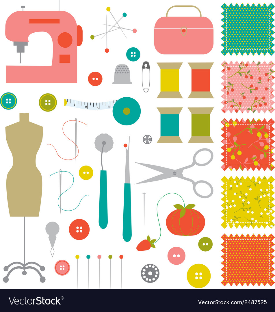 Sewinges clipart banner library stock Sewing clipart banner library stock