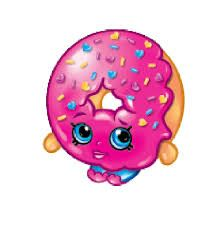 Clipart of shopkins banner Cartoon shopkins d'lish donut | Shopkins | Pinterest | Cartoon ... banner