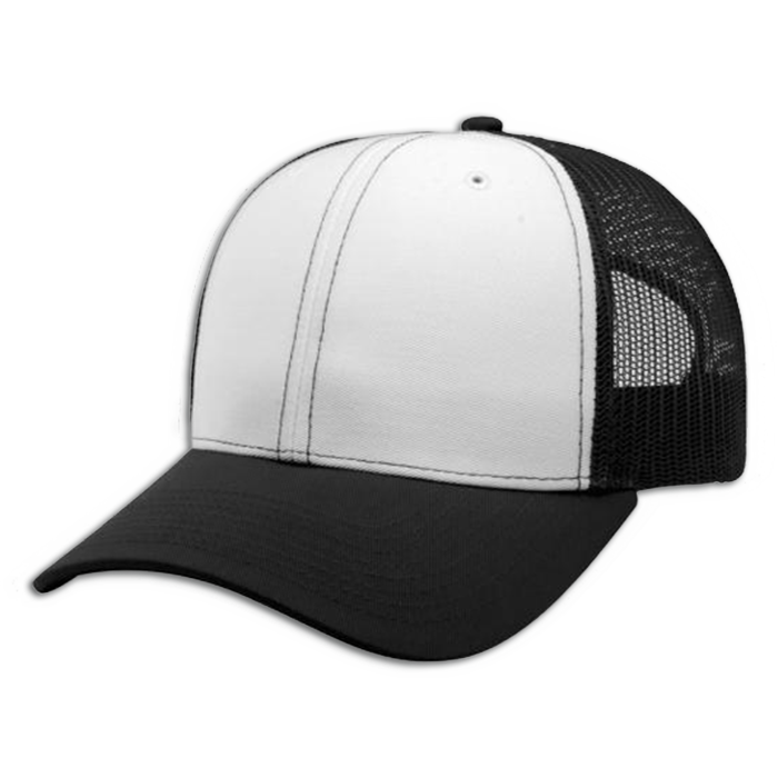 Clipart of side view of man with a baseball cap clip transparent library Buy Richardson Trucker Snap Back Cap   Pro-Tuff Decals clip transparent library