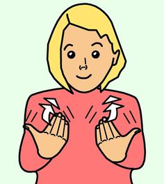 Clipart of sign language. Clipartfest bsl british