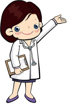 Clipart of sign the doctor is in cartoon image royalty free Awesome doctor cartoons clipart | Cartoon clip art | Medical clip ... image royalty free