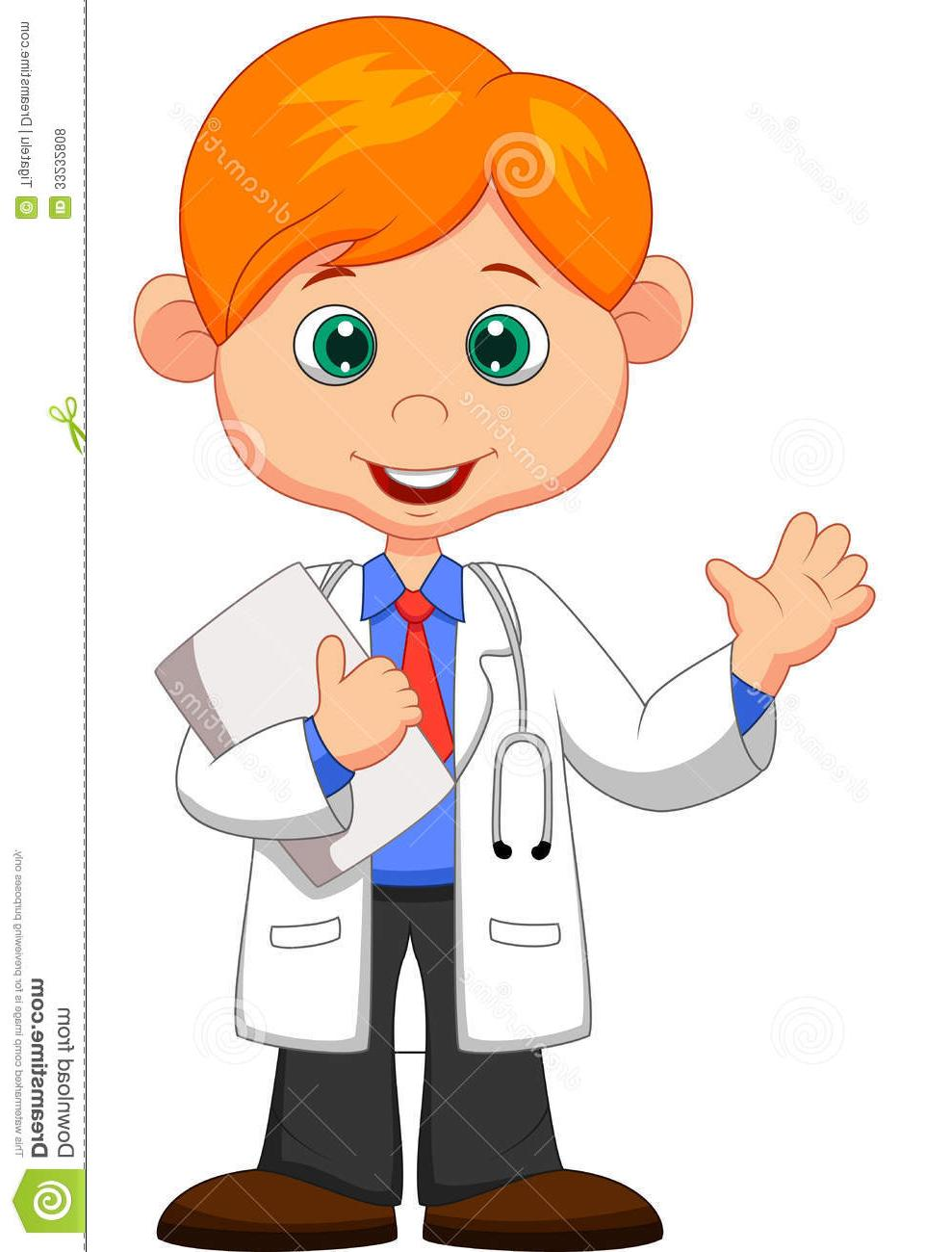 Clipart of sign the doctor is in cartoon clip royalty free library Unique Doctor Cartoon Clip Art Design » Free Vector Art, Images ... clip royalty free library