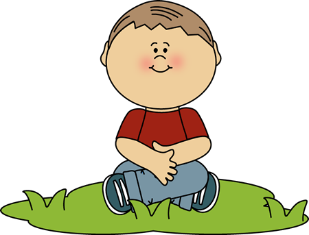Good boy clipart jpg library download Boy Sitting in Grass Clip Art | Melonheadz | Clip art, Art, School boy jpg library download