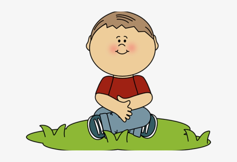 Clipart of sitting clip royalty free download Boy Sitting In Grass Clip Art Sit Criss Cross Clipart Free ... clip royalty free download