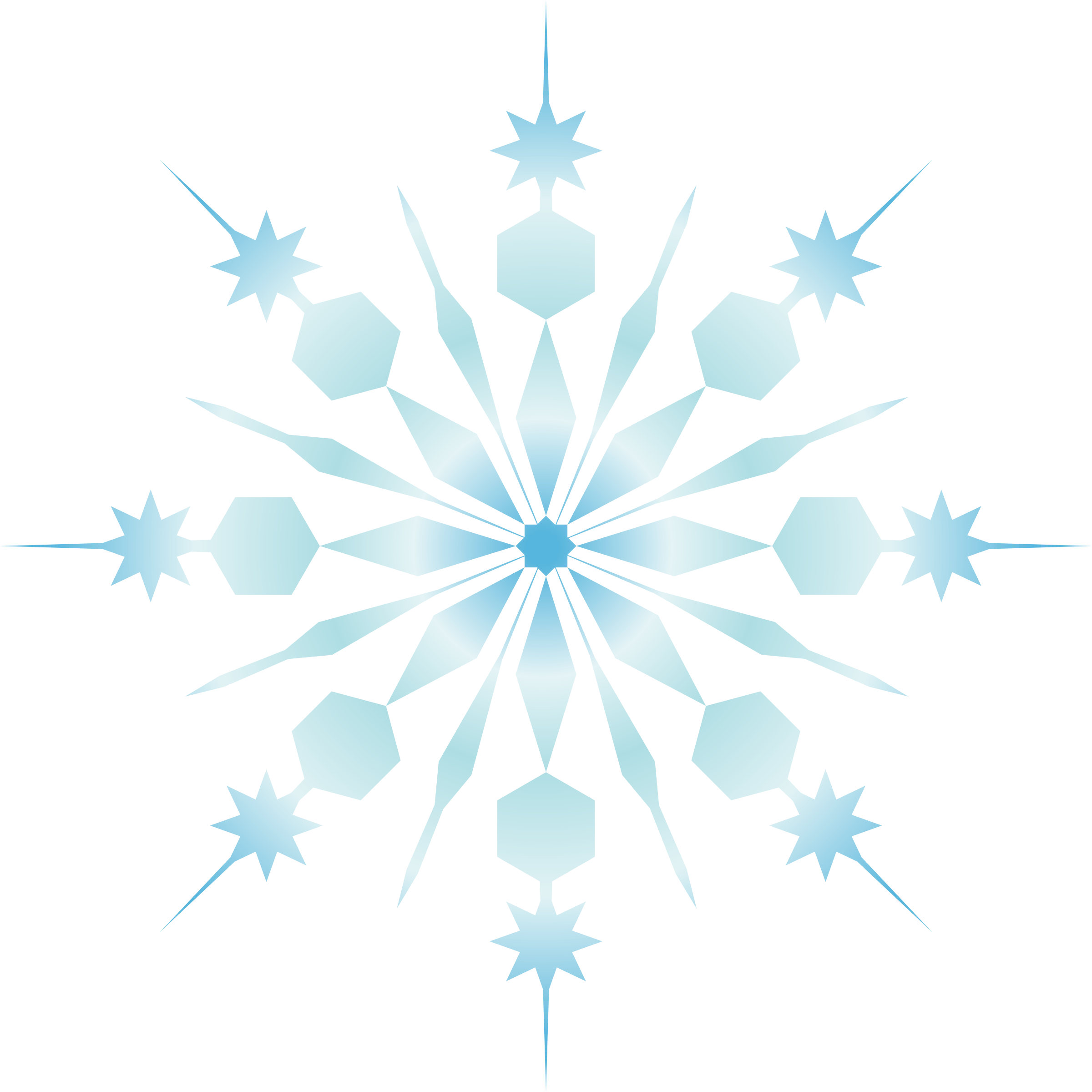 Snowflake crystal clipart clip art freeuse download Clipart - snowflake clip art freeuse download