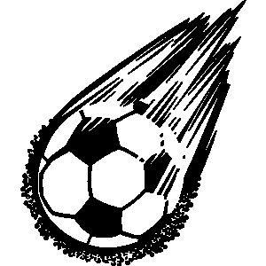 Clipart of soccer ball picture freeuse Soccer ball clipart free - ClipartFest picture freeuse