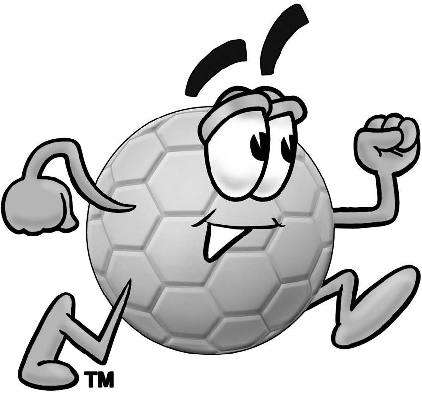 Clipart of soccer ball image black and white library Christmas soccer ball clip art - ClipartFest image black and white library
