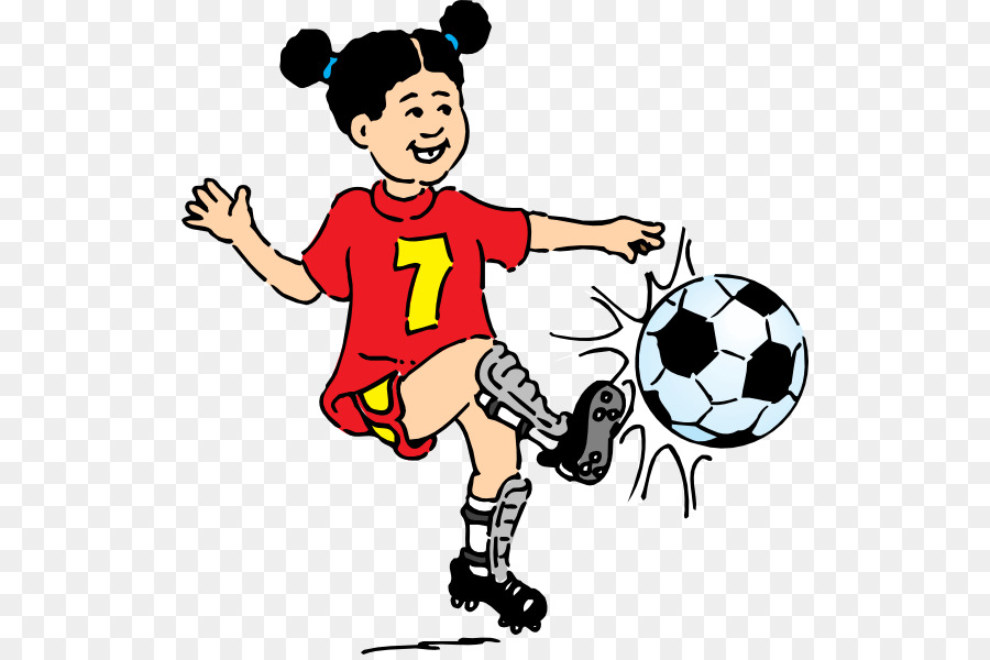 Playing soccer clipart png royalty free stock Soccer Ball png download - 570*595 - Free Transparent Kick png Download. png royalty free stock