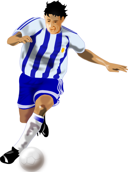 Clipart of soccer player without a ball clip transparent download Free Football Player Kicking Ball, Download Free Clip Art, Free Clip ... clip transparent download