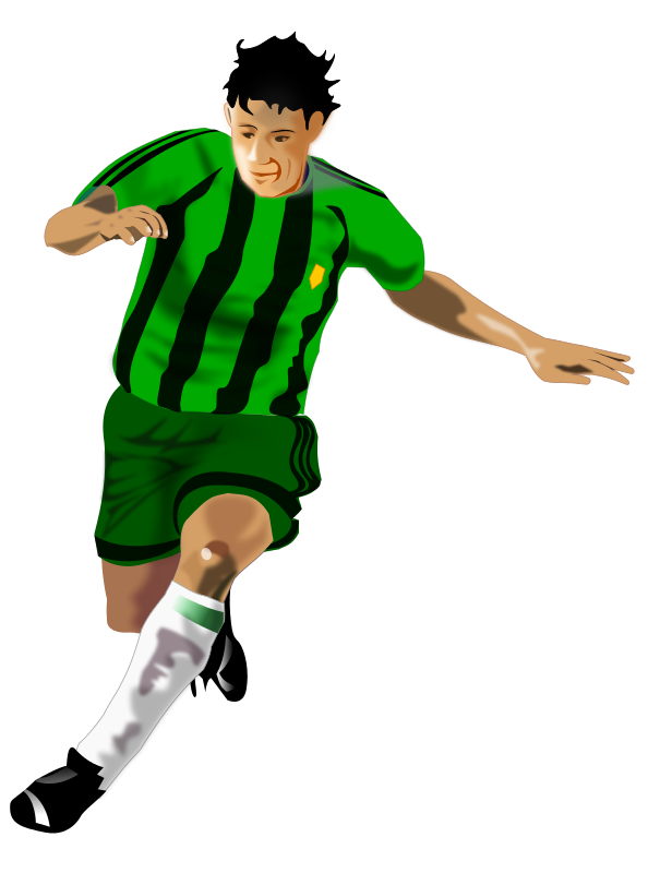 Clipart of soccer player without a ball svg free library Free Soccer Player Cliparts, Download Free Clip Art, Free Clip Art ... svg free library