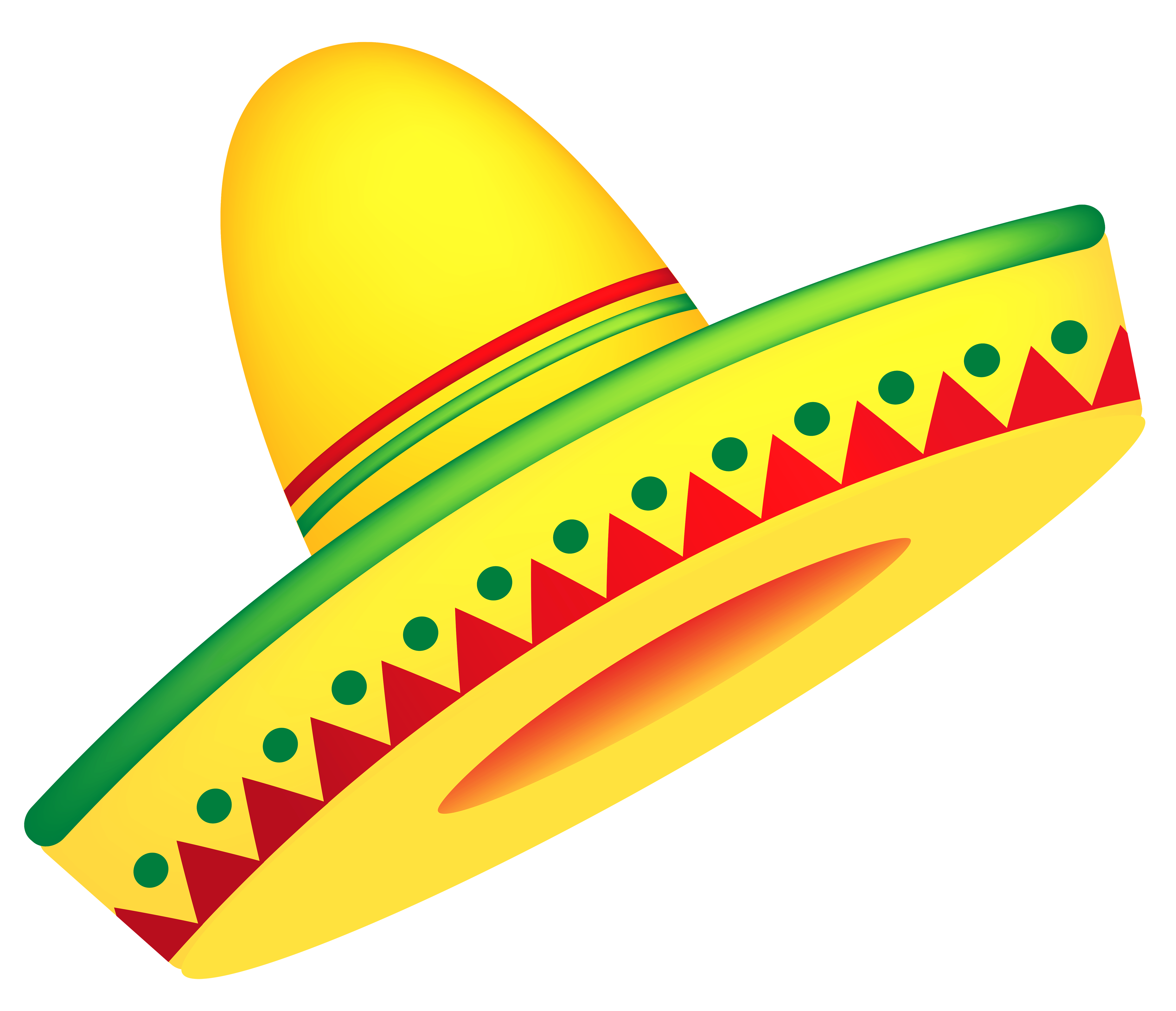 Clipart of sombrero banner library library Mexican Sombrero PNG Vector Clipart | Gallery Yopriceville - High ... banner library library