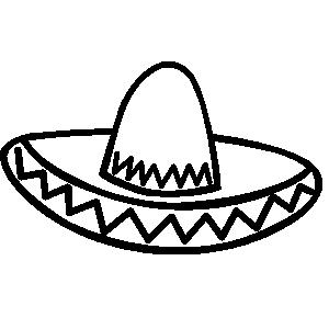 Clipart of sombrero vector transparent library Free Sombrero Cliparts, Download Free Clip Art, Free Clip Art on ... vector transparent library