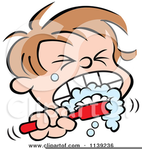 Children teeth clipart image library library Free Clipart Of Children Brushing Their Teeth | Free Images at Clker ... image library library