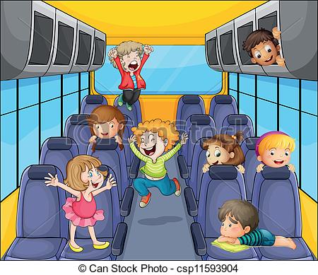 Clipart of someone sitting on a bus stock Sitting On The Bus Clipart stock