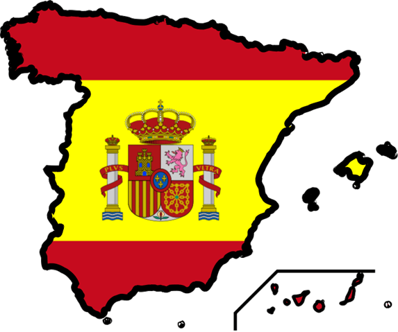 Clipart of spain